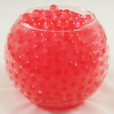 10g Red Water Beads Crystals Mud Soil Pearls Gel Balls Wedding Party Decoration