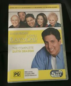 Everybody Loves Raymond : Season 6 (2006 : 5 Disc DVD Set)Very Good Condition R4