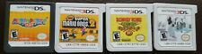 Lot of 4 Nintendo 3DS Games Bundle - Mario bros 2,Donkey Kong,Marioparty