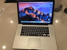"Apple MacBook Pro 15"" - AS IS - Early 2011 8GB RAM/500GB SSD/New Battery - AS IS"