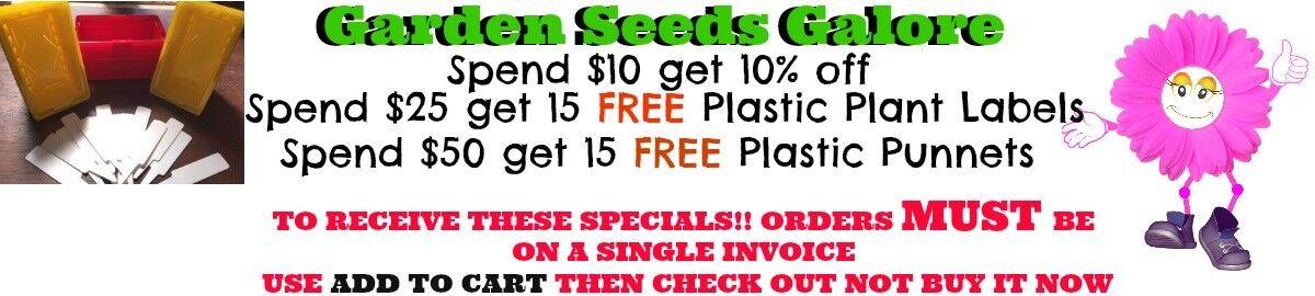 Garden Seeds Galore