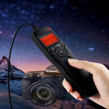Lapso de tiempo Intervalómetro Temporizador Remoto disparador para Canon EOS 7D 10D 20D