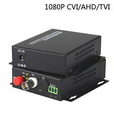 1080P HD CVI AHD TVI CCTV 1 CH Video Fiber Optical Media Converter FC SM 20Km