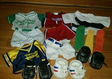 Lot 10+ Build-A-Bear BABW Sport Clothes Outfit Shoes - Karate Baseball Basketbal
