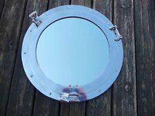 hublot miroir  aluminium 50cm ouvrant deco marine