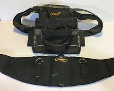 AWP HP Construction Tool Rig Belt Adjustable, Ballistic Nylon Large Bag