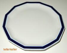 Rosenthal Polygon Mykonos Blau Kuchenteller Ø 19,5 cm Dessertteller Teller