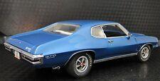 GTO Pontiac Built 1970s Sport Car 12 Race Blue 25 Vintage 1 24 Model 18