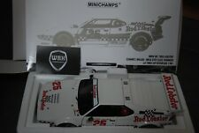 BMW M1 RED LOBSTER #25 Minichamps 1/18 IN BOX