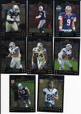 2007 Topps Chrome Football Dallas Cowboys base team set (8 cards includes 2 RCs)