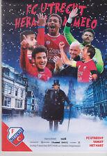 Programme / Programma FC Utrecht v Heracles Almelo 17-12-2017