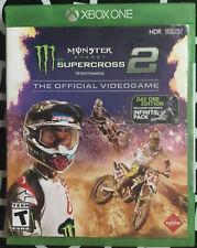 XBOX One Monster Energy Supercross 2 (Microsoft Xbox One, 2019)