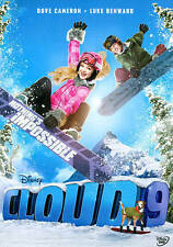 CLOUD 9 New Sealed DVD Snowboarding Disney