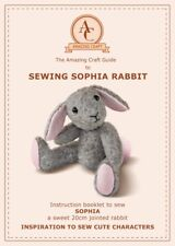 Mohair or Memory Sophia Rabbit Sewing Pattern & 14 page instruction booklet