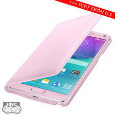 Genuine Original Samsung SM-N910P N910W8 Galaxy Note 4 Leather Wallet Cover Case