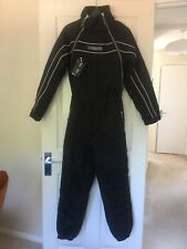 Blue Sky Blue Flying Thermal Insulated One Piece 4 layer Suit Black Size Small
