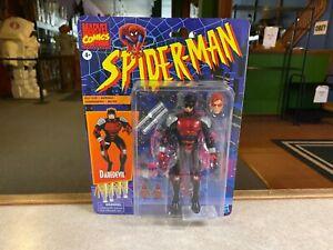 "Marvel Legends 6"" Spider-Man Retro Style Packaging NIP ARMORED DAREDEVIL"