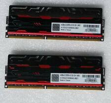 AVEXIR Blitz Series 8GB (2 x 4GB) DDR3 2133MHz White LED Desktop Memory Kit