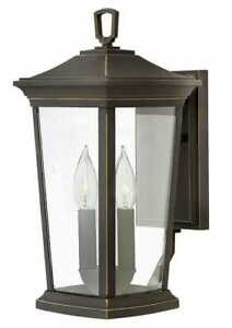 """Hinkley Lighting Bromley 2 Light 15-1/2"""" Tall Outdoor Wall - Rubbed Bronze 2360"""