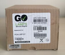 Go Lamps GL458 Projector Lamp for Sanyo POA-LMP127, PLC-XC50, XC50A, XC55, XC56