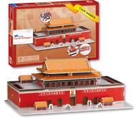 Tiananmen Square 3D Model Puzzle Jigsaw Beijing China Z-B005