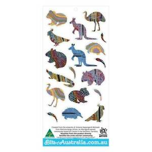 Aboriginal Aussie Animal Stickers