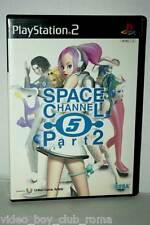 SPACE CHANNEL FIVE PART 2 GIOCO USATO SONY PS2 ED GIAPPONESE JAPAN NTSC/J 37331