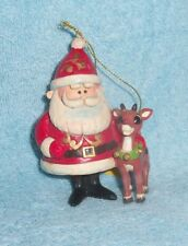 Nib Santa Claus & Rudolph the Red-Nosed Reindeer 50th Anniversary Ornament