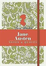 Jane Austen: Notes & Quotes by Michael O'Mara Books Ltd (Paperback, 2015)