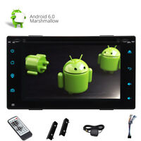 Doppel 2 Din Autoradio DVD GPS Navi 3G/4G WiFi Android 6.0 USB MP3 SD CD Player