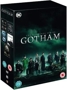 """GOTHAM COMPLETE SERIES 1-5 COLLECTION DVD BOX SET 26 DISC R4 """"NEW&SEALED"""""""