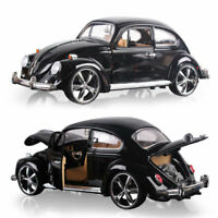 1967 VW Beetle Superior 1:18 Model Car Diecast Toy Vehicle Gift Black Collection