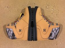 DC Peary Boots Size 7 US Men's Camel Black Water Resistant Boots BMX MOTO Skate