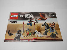 LEGO LEGOS  Instruction Book for 7569  Prince of Persia The Sands of Time 2010