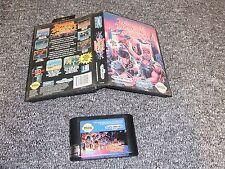 Original juego de Sega Mega Drive-Double Dragon 3-en Caja-Probado