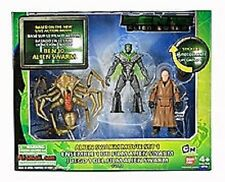 "Ben 10 New 3.5"" Alien Swarm Movie set 1, fig: Validus, Alien Queen, Nanomech"