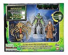 """Ben 10 New 3.5"""" Alien Swarm Movie set 1, fig: Validus, Alien Queen, Nanomech"""