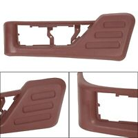 Front Red Driver Seat Panel Trim For 08-10 Ford F250 F350 Super Duty
