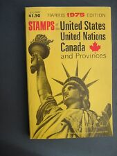 HARRIS OLD TIME CHILDREN'S STAMP COLLECTING PRICE GUIDE 1975 U.S., UN AND CANADA
