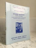 Catalogue Di Vendita Stampe Originali Del XVI Au XVIII Sala N°7 27 Ott 1972