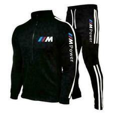 BMW Autos Männer Sweatshirt + Hose Set Trainingsanzug Sportanzug Jogginganzug DE