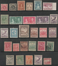 NEWFOUNDLAND - MINT AND USED - 28 STAMPS - NICE LOT