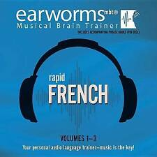 Rapid French, Vols. 1-3 by Earworms Learning (CD-Audio, 2015)