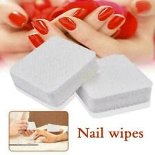 Lot 100pcs Nail Art Manicure Polish Remover Cleaner Wipe Lint Free Cotton Pads