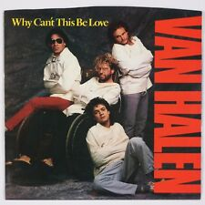 VAN HALEN: Why Can't This Be Love USA Orig '86 Rock 45 w/ PS Superb NM-