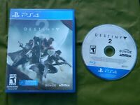 Destiny 2 (Sony PlayStation 4, 2017) Disc, Case - No Book - Free Shipping  Used