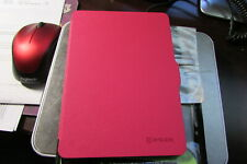 EveCase Amazon Kindle Voyage Tablet HARD COVER Folio Carry Case Hot Pink