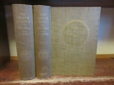 New listing Old The United States Of America Set 1894 Government History Industry Indians +