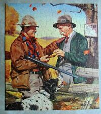 "Hunting Season Jigsaw Puzzle 304 Pc  Complete Whitman Guild J.F.Kernan  15x18"""