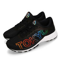 Asics DynaFlyte 2 TOKYO 2018 Black Multi-Color Women Running Shoes T8E7Q-9090